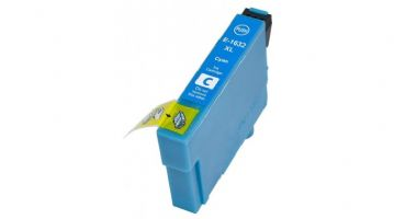 Cyan Epson 16XL High Capacity Refurbished Ink Cartridge - (C13T16324010) T1632